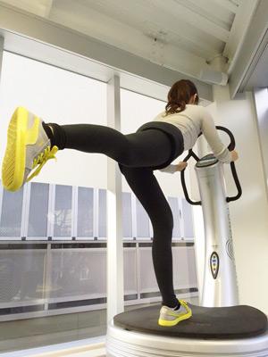 パワープレートの効率的な運動効果
